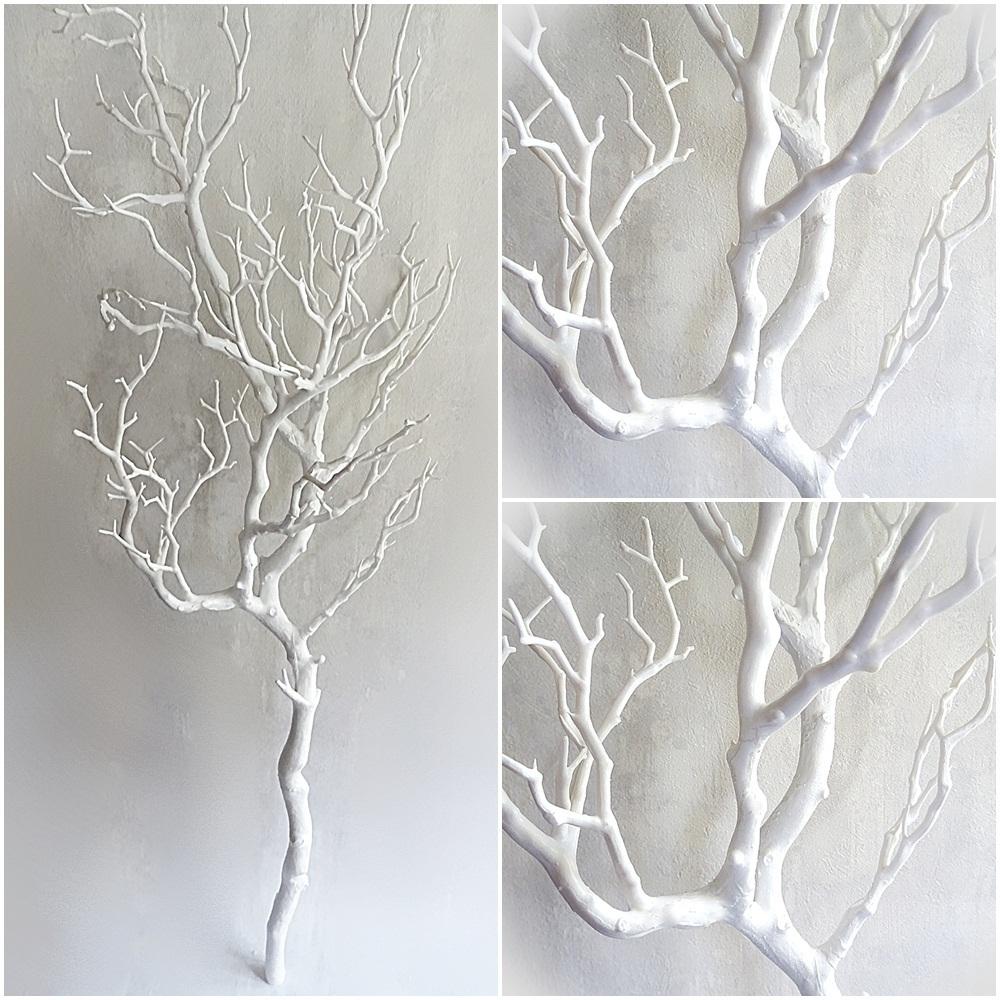 xl dekoast wei 95 cm k nstlicher deko ast dekozweig kunstast kunstzweig dekoeins. Black Bedroom Furniture Sets. Home Design Ideas