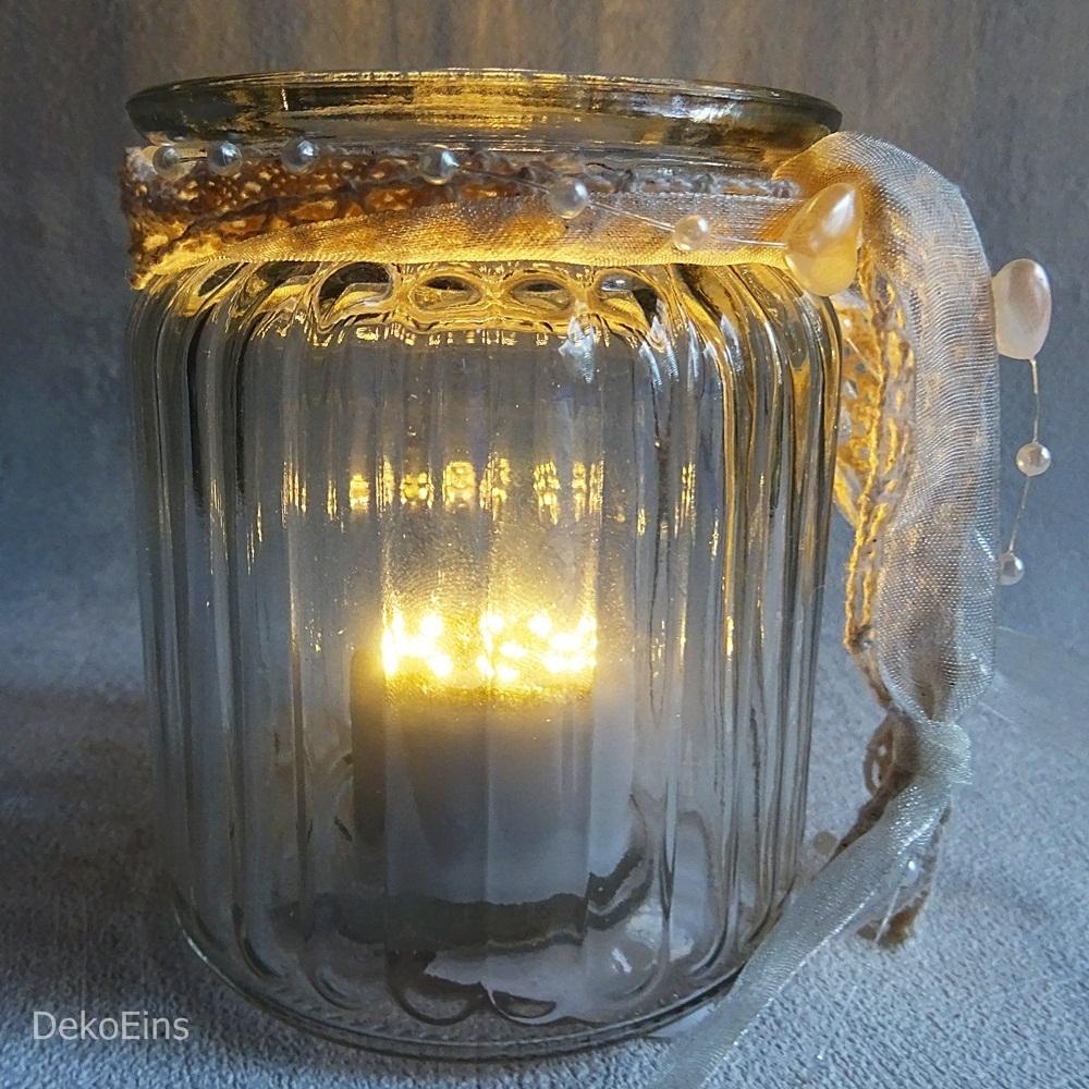 12 x Dekovasen H 9,5 cm Tischdekoration Tischvase Vase Deko Windlicht Vasen glas