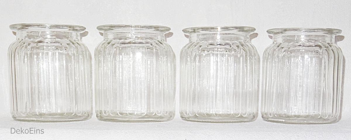 12 x dekovasen h 9 5 cm tischdekoration tischvase vase deko windlicht vasen glas dekoeins. Black Bedroom Furniture Sets. Home Design Ideas