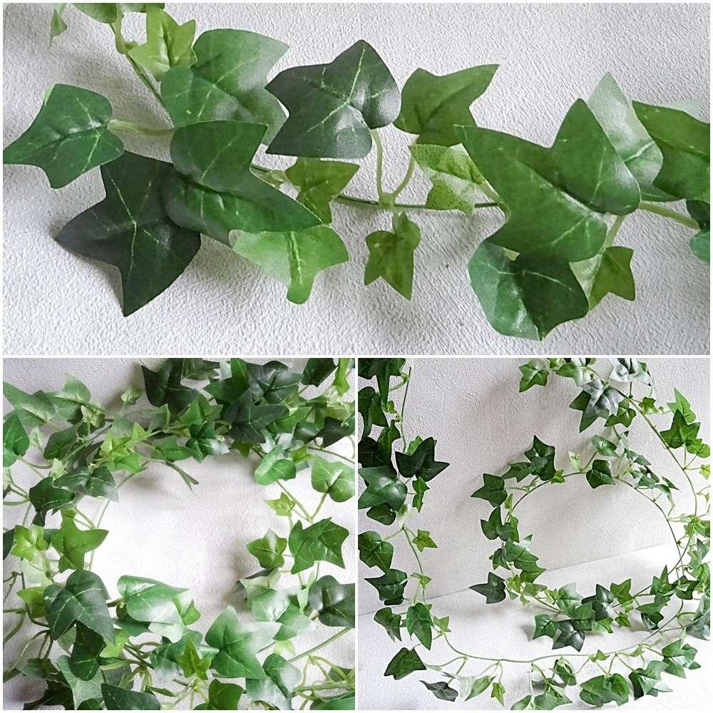 efeugirlande 180 cm grün - kunstpflanzen kunstblumen künstliches