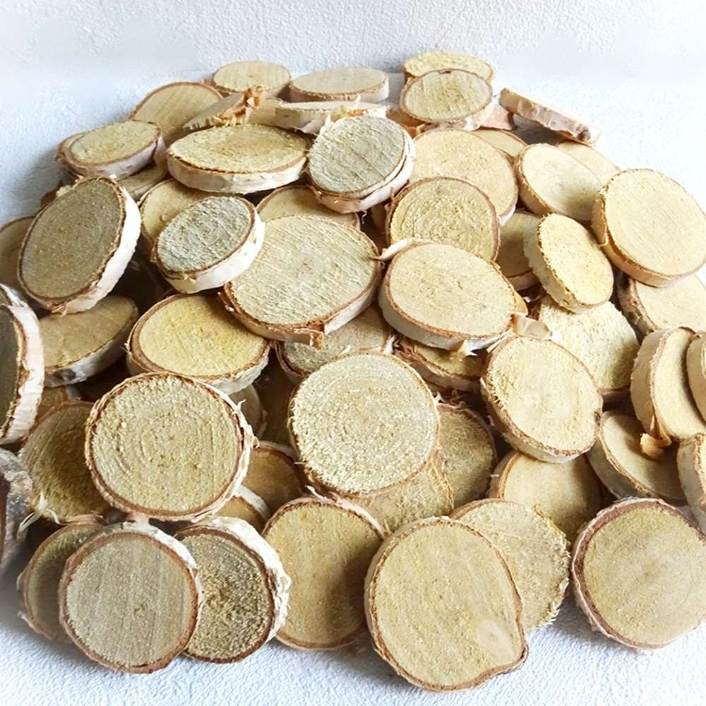 Holzscheiben Baumscheiben Birkenscheiben 500 G Ca 160 Stck Rund O 2
