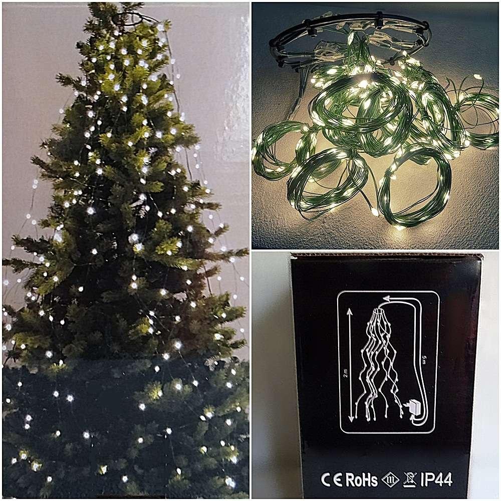 Lichterkette Weihnachtsbaum Christ Baum Beleuchtung 256 Led16