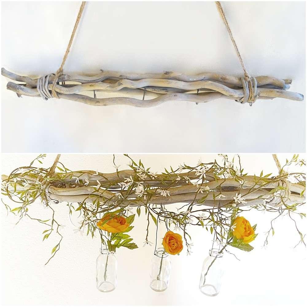 Weidenbündel mit Haken Aufhänger Jute Bündel Weidenzweige Zweige